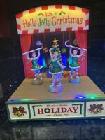 Lemax Belle's Holiday Recital Caddington Christmas Village ANIMATED NIB