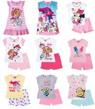 Camicia da notte per bambine dai 2 ai 16 anni 100% Cotone
