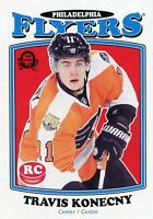 16/17 O-PEE-CHEE OPC RETRO ROOKIE RC #692 TRAVIS KONECNY FLYERS *50240