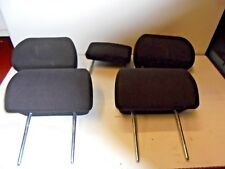 FORD MONDEO MK3 00-07 HEADRESTS FULL SET IN BLACK CLOTH ESTATE