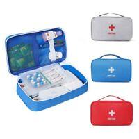 First Aid Kit Camping Medical Bag Survival Handbag Emergency Travel Portable