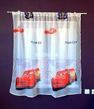 Disney Voile Net Curtain - CARS - 150cm width x 150cm drop