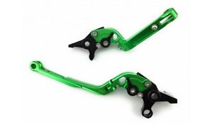 Paire Leviers Repliables Flip Up Vert DUCATI MULTISTRADA MTS 1200 2015-2017