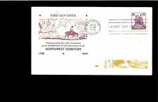 1938 Marietta Ohio Northwest Territory 150th Anniversary Stamp #837 FDC