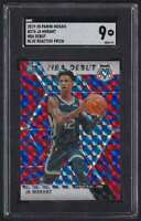 2019-20 PANINI MOSAIC NBA DEBUT BLUE REACTIVE JA MORANT RC SGC 9