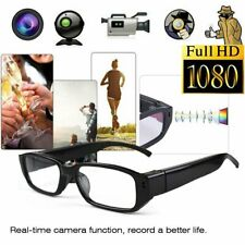 Mini HD 1080P Hidden Camera Glasses Invisible Hole DVR Video Recorder Eyeglass