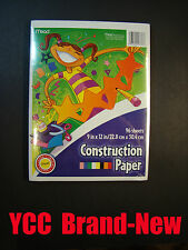 Mead Construction Paper Asstd. Color- 96s', 9x12 in(22.8 x 30.4 cm),#53336,1 pk.