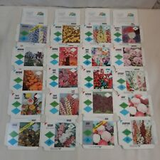 100 Vintage Unused Garden Flower Seed Packets Envelopes Farm Decor Crafts