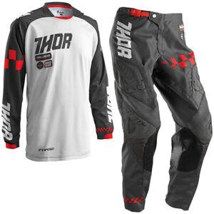 Thor Mx Motocross Kit Ramble Charcoal Dirt Bike Off Road Enduro Kit Combo
