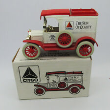 """Citgo 1913 Model """"T"""" Delivery bank by Ertl limited addition  car toy vintage"""