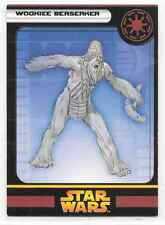 2005 Star Wars Miniatures Wookiee Berserker Stat Card Only Swm Mini