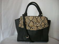 Authentic Nine West Finian Women's Satchel Purse Black