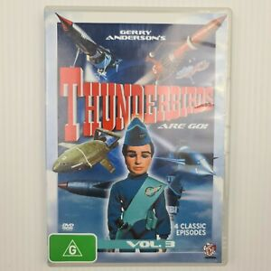 Thunderbirds Are Go! Volume 3 DVD (4 Classic Episodes) - FREE TRACKED POSTAGE