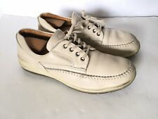 ECCO Oxford Vegetable Tanned Leather Arch Support Walking Shoes Men US 12 Eur 46