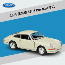 Welly 1:24 1964 Porsche 911 Diecast Metal Model Car Red or White