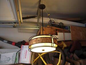 "Quoizel MC842 Laguna 3 Light 16""W  Ceiling Fixture - Copper"