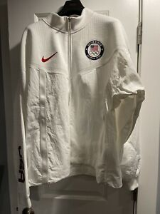 Nike Team USA Windrunner Men's Medal Stand Jacket Olympic CK4552-100 New Size XL