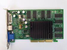 AGP Card MSI Nvidia 180-10162-0000-A03 VGA / DVI Graphics Card