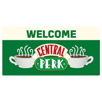Friends Metal Wall Sign Central Perk | OFFICIAL
