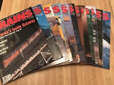 Vintage Trains Magazine Complete 1994 Set Train Collectible 12 Issues