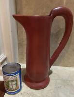 Julie Cyclamen Pottery PItcher Vase California Mid Century Modern MCM Vintage