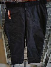 STIHL Regular Chainsaw operator's protective chaps 70121010051 Chaps Noir *NEUF*