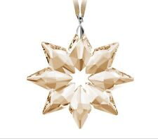 Swarovski Annual 2013 Small Gold Star Christmas Ornament Scs New in Box