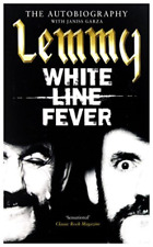 LEMMY-The Autobiography White Line Fever (UK IMPORT) BOOK NEW