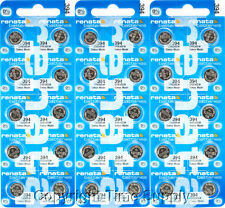 30 pcs 394 Renata Watch Batteries SR936SW FREE SHIP 0% MERCURY