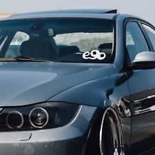 BMW e90 window windshield sticker stance decal