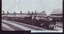 1986  --  TRAIN VAPEUR AU DEPART DE NANTES  S190