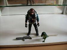 Kenner Jurassic Park Dennis Nedry + Items