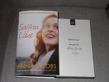 *Signed limited edition 77/80)* ANNA JACOBS 'Saffron Lane' HB 1st VGC Peppercorn