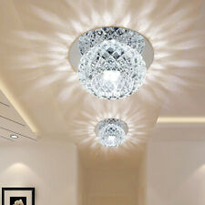 5W Crystal LED Ceiling Light Fixture Pendant Lamp Lighting Chandelier Spot Clear
