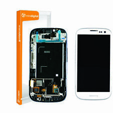 for Samsung galaxy s3 i9300 white lcd digitiser with frame