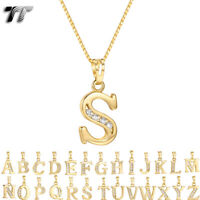 NEW TT Silver//Rose Gold Stripe Stainless Steel Cross Pendant Necklace NP295Z