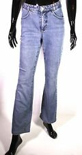 GJ4-110 MAC Angela Damen Basic Jeans Hose straight leg blau Gr. 36 L32 Stretch