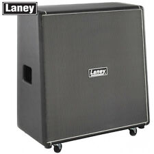 Laney LA212 Black Country Customs 50W 2x12 Slant Guitar Speaker Cabinet - Black