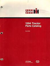 Case/Ih 1394 Tractor Parts Manual Pub 8-2202