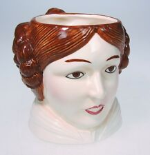 Princes Leia Lucas Star Wars Coffee Cup Sigma The Tastesetter Vtg 80s Fisher