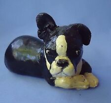 "1940s French Bulldog Boston Terrier Dog Jan Allan 5"""