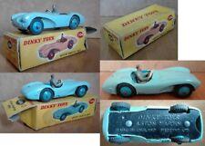 Dinky Toys 104 Aston Martin DB3S die cast 1/43 light blue