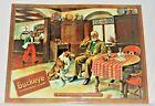 Vintage Buckeye Beer Tin Over Cardboard Sign - Beer Such As Grandpa Remembers