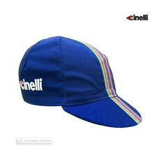 NEW Cinelli CIAO Collection Cycling Cap : BLUE - Made in Italy!