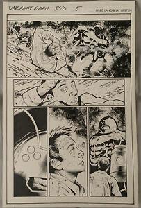 X-men 540 Page 5 Original Comic Art