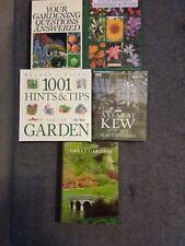 Collection of 5 Hardback Gardening Books