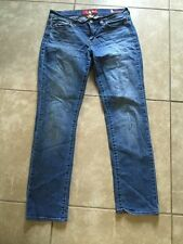 Lucky Brand Womens Jeans Sofia Straight 6/28 Ankle Blue Wash (31x29)