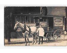 ST1983b METROPOLITAN DAIRY CO. HORSE & WAGON JERSEY CITY NJ RPPC/postcard 1911PM