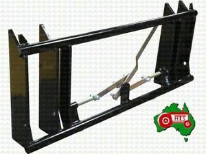 Tractor Euro Quick Hitch Change Frame Head Stock Bracket Loader Weld On Type