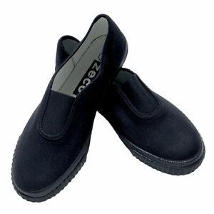 Zeco School Uniform Unisex Girls Boys Gusset Plimsolls